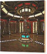 Star Drive Accelerator Wood Print