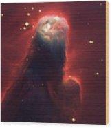 Star Former Cone Nebula Wood Print