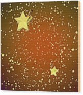 Star Gazers Wood Print