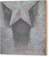 Star Wood Print by Kristi Swift