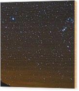 Star Light - Star Bright Wood Print