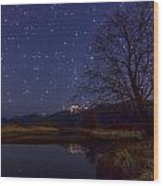 Star Light Star Bright Wood Print by James Wheeler