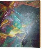Star Nebula Wood Print