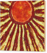 Star Shine Wood Print