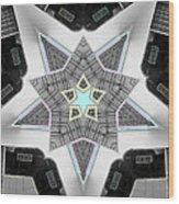 Star System Wood Print