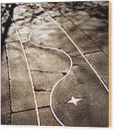 Star Walk Wood Print