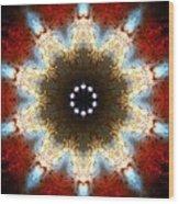 Starburst Galaxy M82 I Wood Print