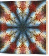 Starburst Galaxy M82 IIi Wood Print