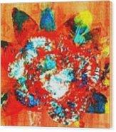 Starburst Nebula Wood Print