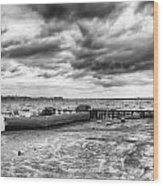 Starcross Harbor Wood Print