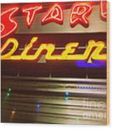 Stardust Diner - New York City Wood Print