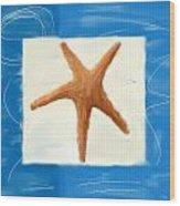 Starfish Galore Wood Print by Lourry Legarde