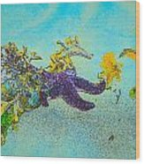 Starfish Paradise Wood Print