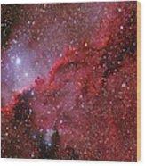 Starforming Emission Nebula Ngc 6188 Wood Print