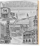 Stark County Ohio Print - Canton Lives Wood Print