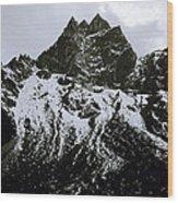 Stark Himalayas Wood Print