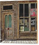 Stark Store And Hotel - Ep Wood Print