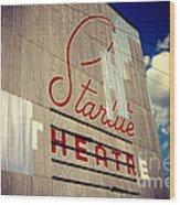 Starlite  Wood Print