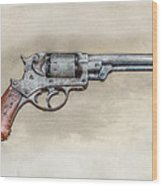 Starr Civil War Era Pistol Wood Print
