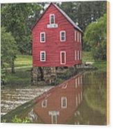 Starrs Mill Wood Print