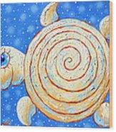 Starry Journey Wood Print