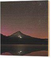 Stars Above The Hood Wood Print