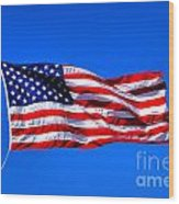 Stars And Stripes Forever Wood Print