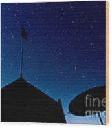 Stars Wood Print by Stelios Kleanthous