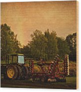 Starting Over - Vintage Country Art Wood Print