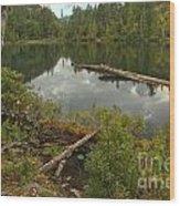 Starvation Lake - British Columbia Wood Print