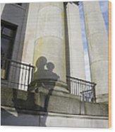 State Building Washington  Wood Print