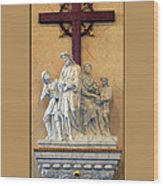 Station Of The Cross 01 Wood Print