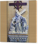 Station Of The Cross 06 Wood Print