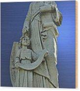 Statue 05 Wood Print
