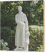 Statue 13 Wood Print