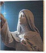Statue 22 Wood Print