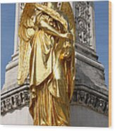Statue Of Angel2 Wood Print
