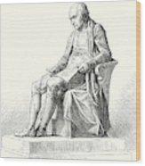 Statue Of James Watt In Westminster Wood Print