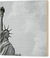 Statue Of Liberty 4 Wood Print