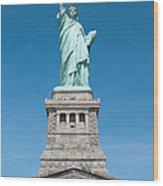 Statue Of Liberty II Wood Print