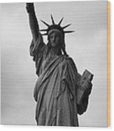 Statue Of Liberty National Monument Liberty Island New York City Nyc Wood Print