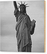 Statue Of Liberty National Monument Liberty Island New York City Nyc Usa Wood Print