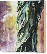 Statue Of Liberty Part 4 Wood Print