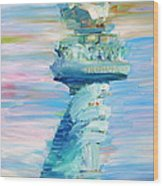 Statue Of Liberty - The Torch Wood Print