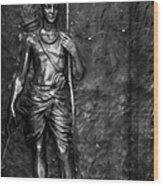 Statue Of Lord Sri Ram Wood Print