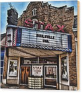 Stax Records Wood Print