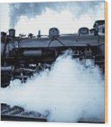 Steam Engine 3254 Wood Print