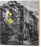 Steam Engine 844 Wood Print