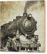 Steam Locomotive No. 334 Wood Print