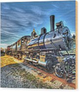 Steam Locomotive No 6 Norfolk And Western Class G-1 Wood Print